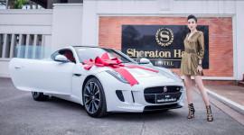 Á hậu Huyền My tậu xe thể thao Jaguar F-Type Coupe 6 tỷ