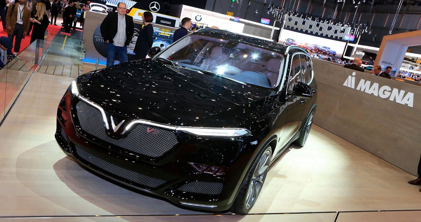Truyền thông quốc tế đưa tin về xe VinFast tại triển lãm Geneva 2019