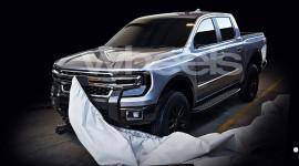 Lộ ảnh Ford Ranger thế hệ mới thiết kế tương tự F-series