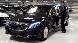 Xe chống đạn Mercedes-Maybach S600 Pullman Guard 2019 giá 1,56 triệu USD