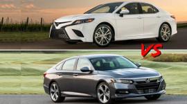 So sánh Toyota Camry 2019 với Honda Accord 2019