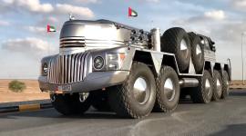 Video: Chiếc xe off-road 10 bánh kỳ dị của tỷ phú Ả-Rập