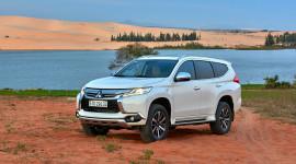 Mitsubishi Pajero Sport bản máy xăng nhận ưu đãi đến 30 triệu đồng