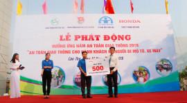 Honda Việt Nam phát động hưởng ứng Năm an toàn giao thông 2019