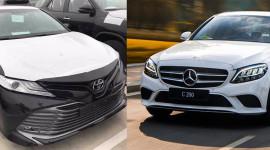 1,6 tỷ đồng, chọn Camry 2019 nhập Thái hay Mercedes C200 2019 lắp ráp trong nước?