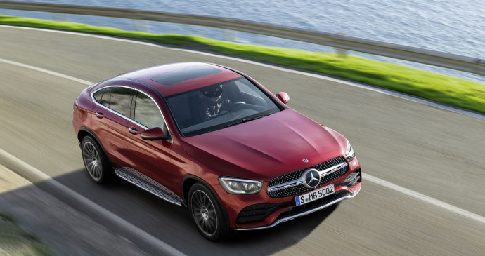Mercedes GLC Coupe 2020 ra mắt với kiểu dáng thể thao và động cơ mạnh mẽ hơn