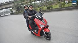 Chạy thử xe máy điện Pega Newtech và tham quan nhà máy lắp ráp