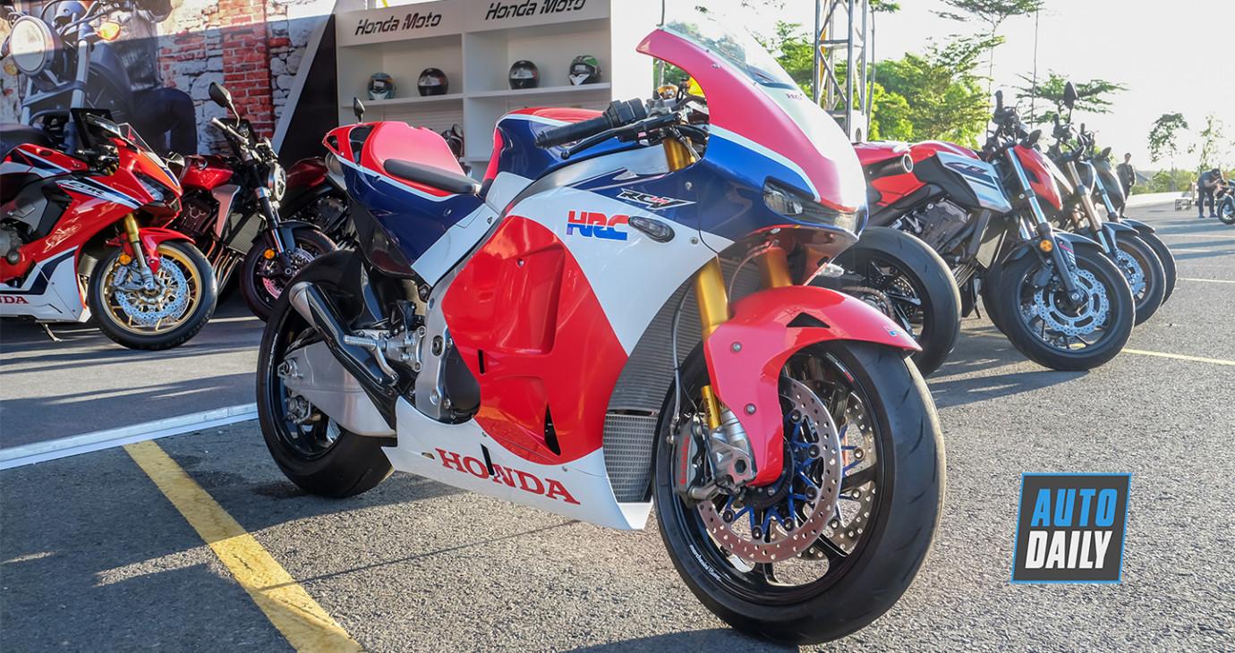 Chiêm ngưỡng siêu mô tô Honda RC213V-S giá hơn 4 tỷ đồng tại Việt Nam