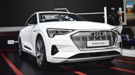 Xe điện Audi E-tron 2019, gương là camera giá từ 3,7 tỷ tại Thái