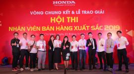 """Honda Việt Nam tổ chức vòng chung kết Hội thi """"Nhân viên bán hàng xuất sắc năm 2019"""""""