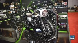 """Diện kiến """"Xế hoài cổ"""" Kawasaki W800 Café-Racer 2019"""