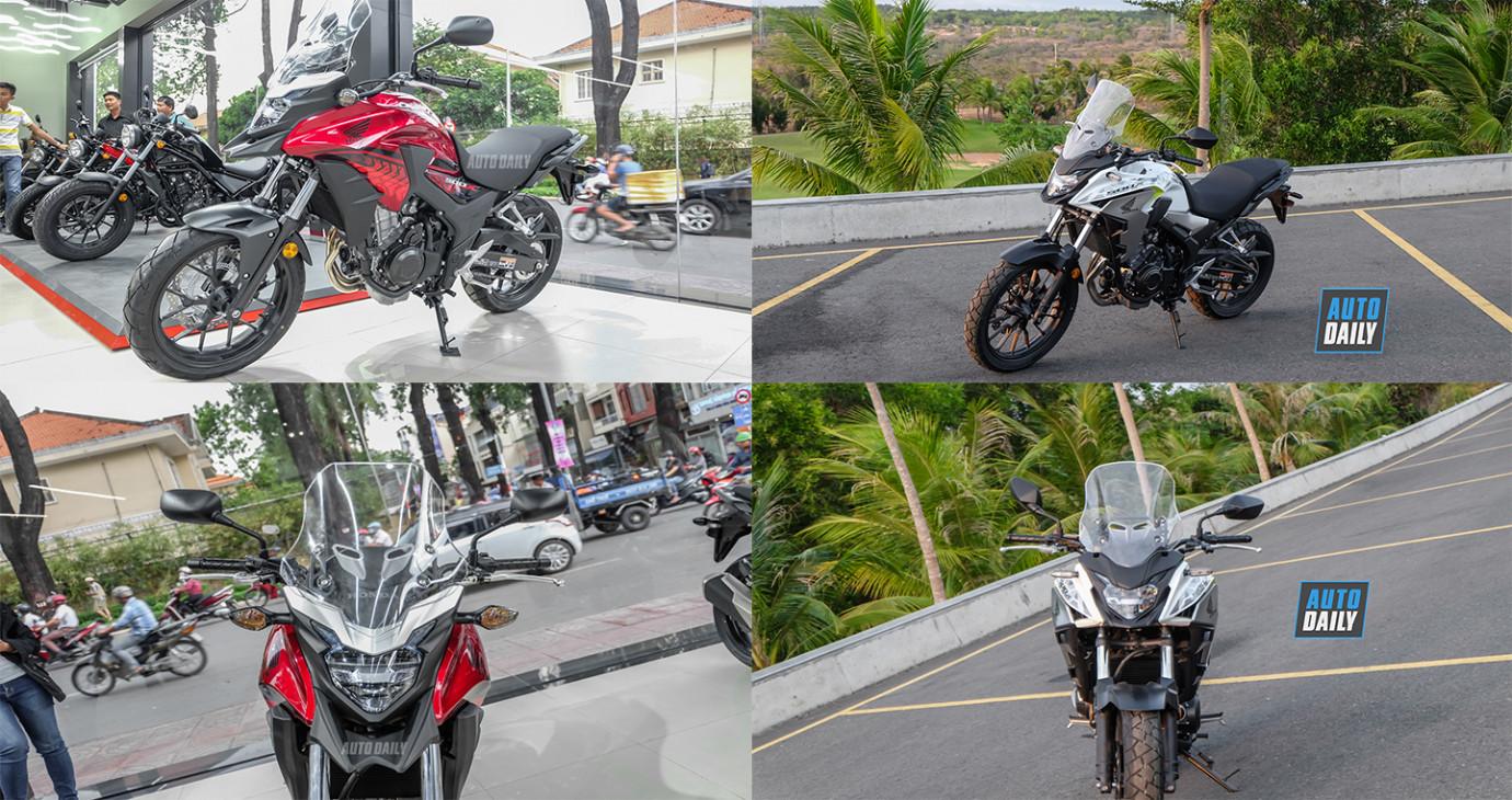 Honda CB500X 2019 thay đổi thế nào so với CB500X 2018?
