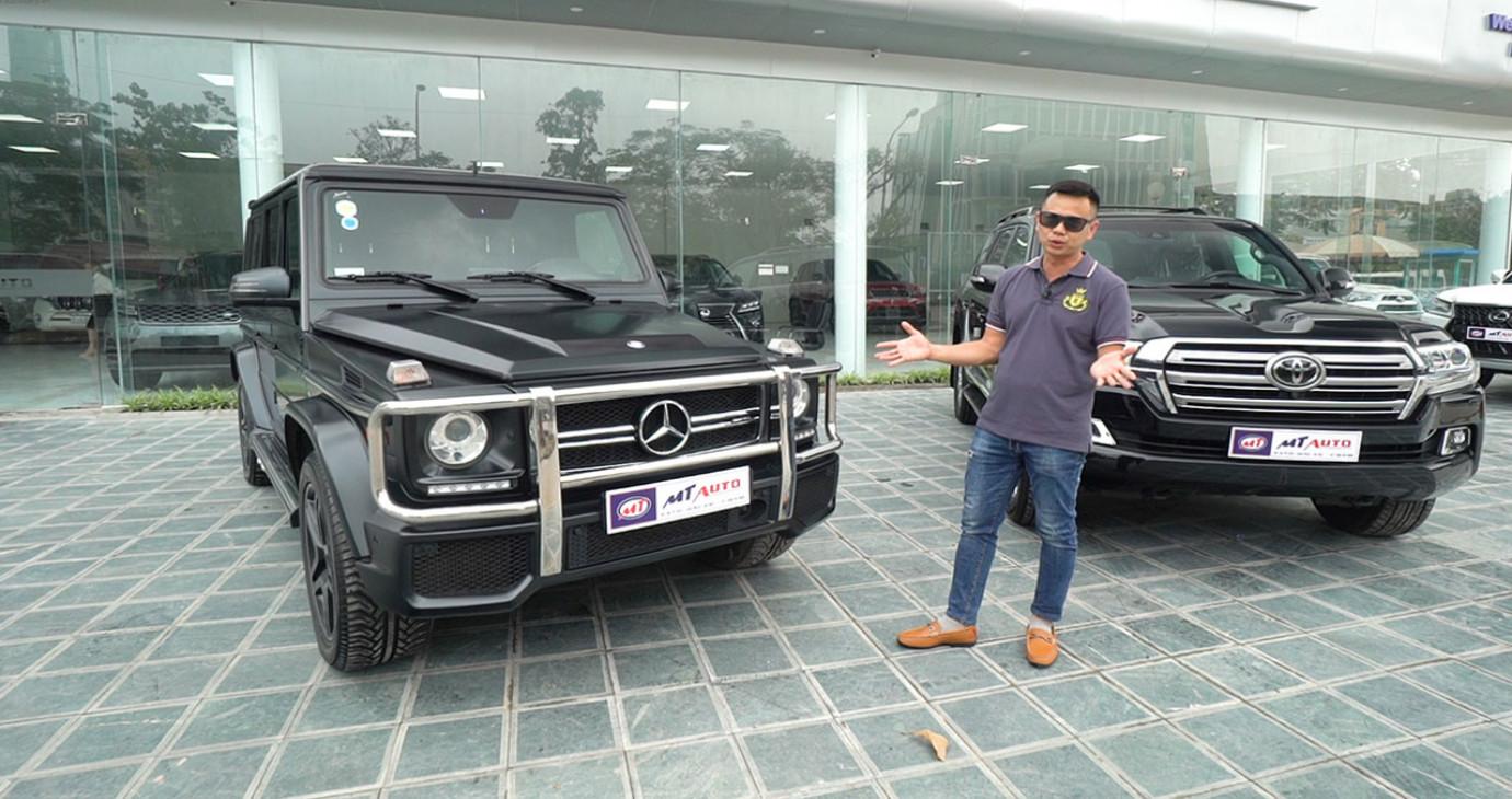 Hơn 7 tỷ đồng, chọn Mercedes G-Class hay Toyota Land Cruiser?