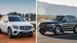 SUV 5 chỗ hạng sang tầm giá 2,5 tỷ đồng, chọn Mercedes GLC 300 hay Volvo XC60?