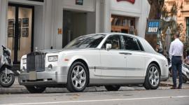Rolls-Royce Phantom của ông trùm cafe Trung Nguyên tại Hà Nội