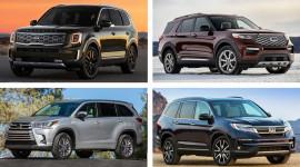 So sánh Ford Explorer, Honda Pilot, Toyota Highlander và Kia Telluride