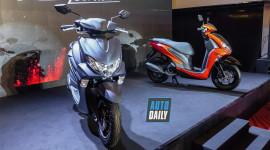 Cận cảnh Yamaha FreeGo 125 hoàn toàn mới tại Việt Nam
