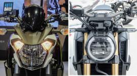 So sánh nhanh Kawasaki Z650 2017 và Honda CB650R 2019