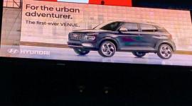 Hyundai Venue 2020 lộ diện, ra mắt tối nay