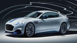 Aston Martin trình làng Rapide E chạy điện hoàn toàn