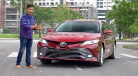 Lái thử và đánh giá Toyota Camry 2.5Q 2019