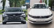Toyota Camry 2019 và Volkswagen Passat: So găng sedan Nhật – Đức