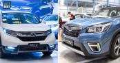 Hơn 1 tỷ đồng, chọn Subaru Forester 2019 hay Honda CR-V?