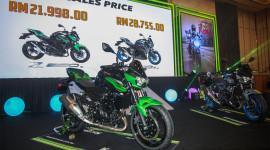 Kawasaki Z250 và Z400 2019 cập bến ĐNÁ, giá lần lượt 5.300 và 6.900 USD