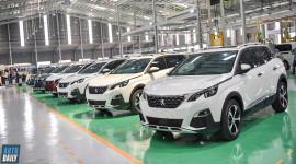 Thaco khánh thành nhà máy lắp ráp xe cao cấp tại Chu Lai