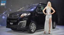 Xe gia đình cao cấp Peugeot Traveller ra mắt tại Việt Nam