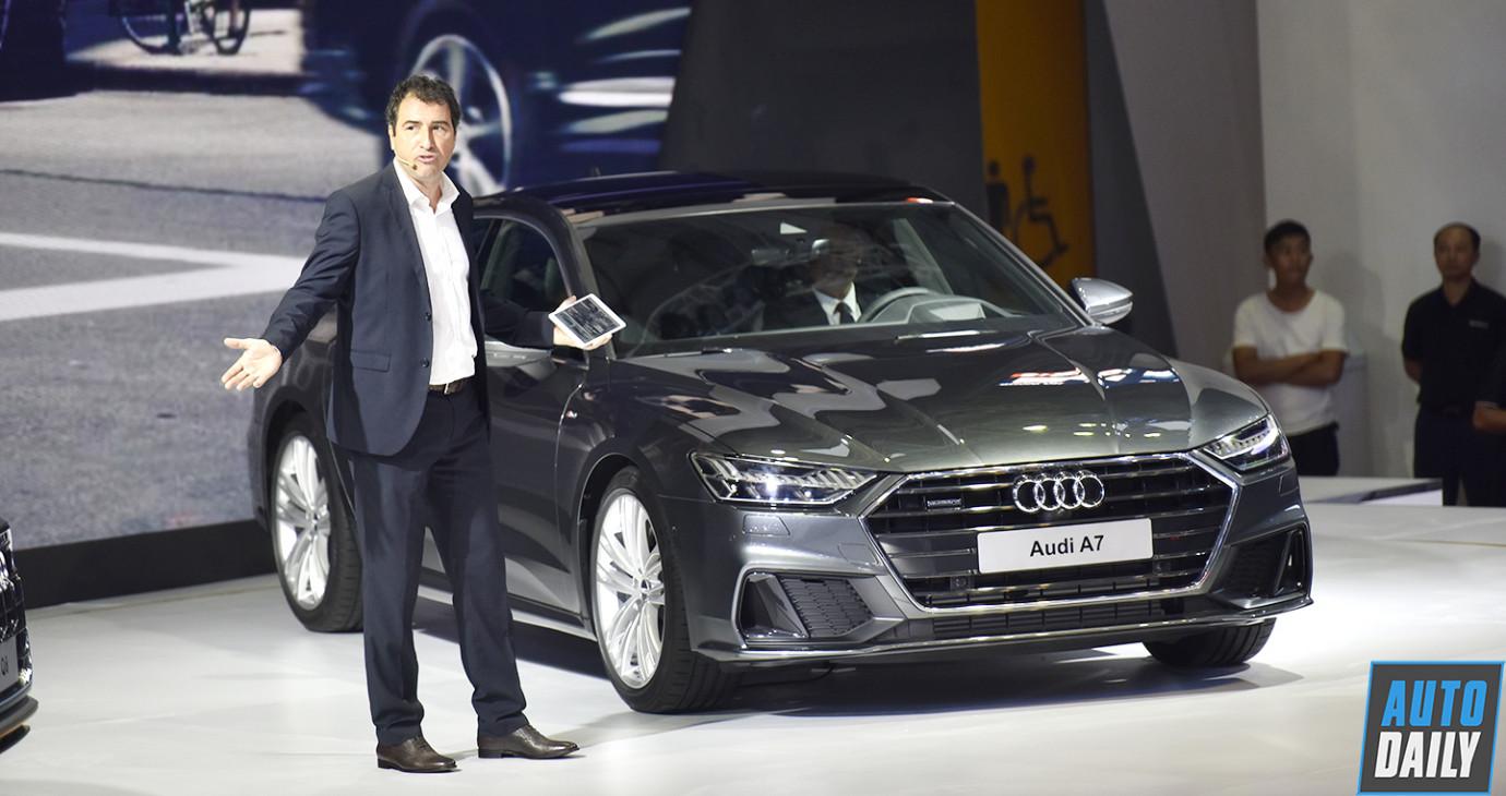 Audi Việt Nam triệu hồi hơn 180 xe A7, A8 và Q7 vì lỗi kỹ thuật