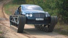 Bentley Continental GT được hô biến thành xe tăng hạng sang