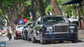 Chùm ảnh siêu xe, xe siêu sang xuống phố cuối tuần qua tại Hà Nội