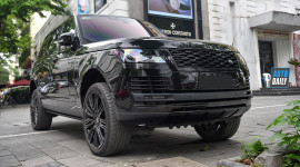 Cận cảnh Range Rover Autobiography LWB Black Pack hơn 13 tỷ tại HN