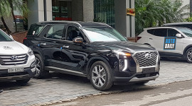 Hyundai Palisade 2020 đầu tiên về Việt Nam được sử dụng cho Đại sứ quán Hàn Quốc