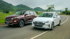 Hyundai Elantra và Tucson 2019 chính thức ra mắt tại Việt Nam