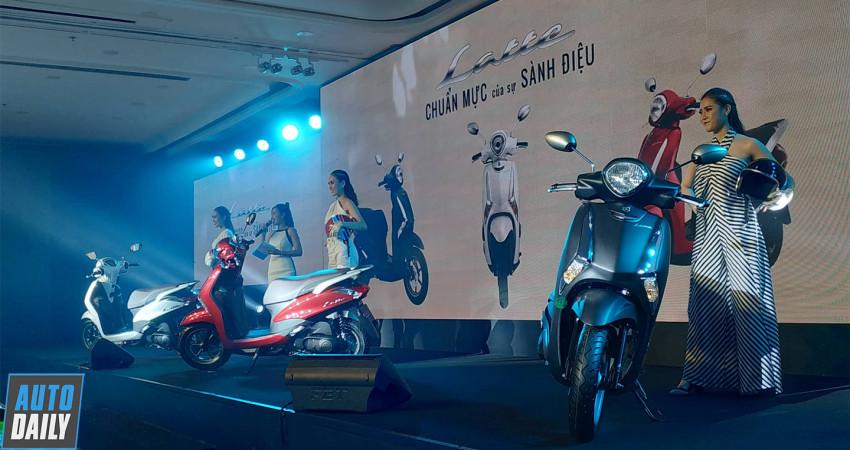 Yamaha Latte hoàn toàn mới ra mắt tại Việt Nam, đấu Honda Lead