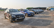 Nâng cao kỹ năng lái xe tại Mercedes-Benz Driving Academy 2019