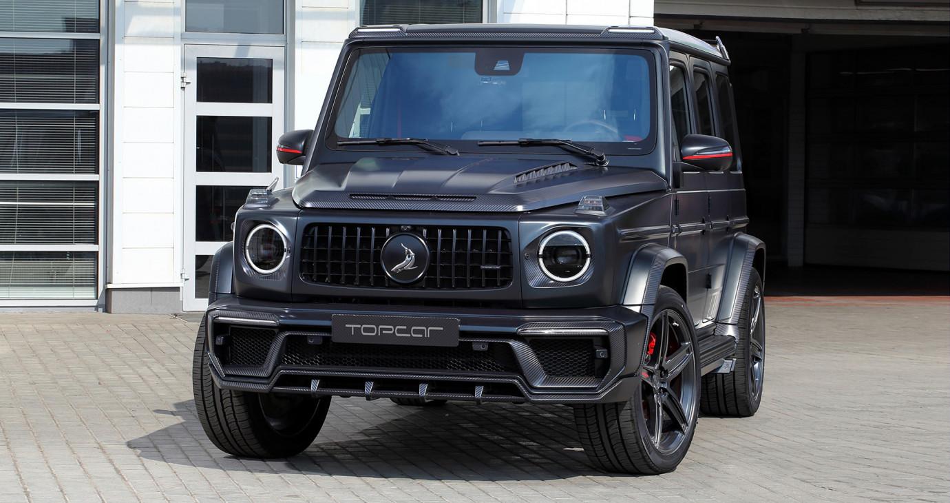 Mercedes-AMG G63 2019 hầm hố hơn với gói độ giá 45.000 USD