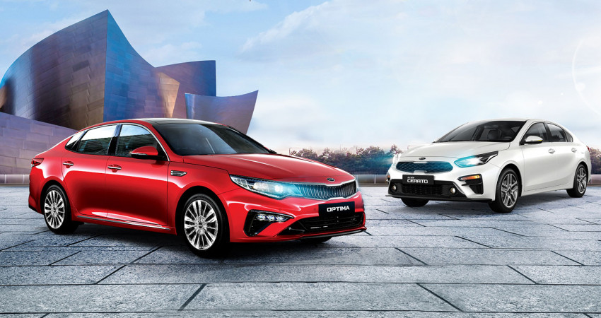 Khám phá bộ đôi sedan mới nhất của Kia: Khi All-New Cerato sánh đôi cùng Optima mới