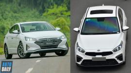 Tầm 700 triệu, chọn Hyundai Elantra 2.0 2019 hay Kia Cerato 2.0 2019?