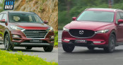 Tầm 900 triệu, chọn Hyundai Tucson 2.0 2019 hay Mazda CX-5 2.0 2018?