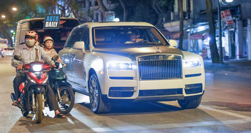 Chùm ảnh: Ngỡ ngàng trước vẻ đẹp của Rolls-Royce Cullinan đầu tiên VIệt Nam P2