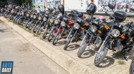 """Dàn xe Suzuki GD110HU offline """"hoành tráng"""" tại Sài Gòn"""