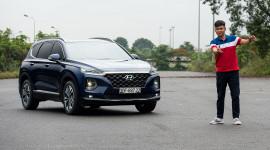 Lái thử và Đánh giá Hyundai SantaFe 2019 máy dầu FULL OPTION giá 1,245 tỷ đồng