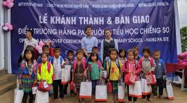 Quỹ Toyota Việt Nam hỗ trợ xây dựng trường học tại Điện Biên