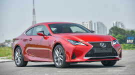 Lái thử và Đánh giá chi tiết Lexus RC 300 giá 3,3 tỷ đồng: THỂ THAO và MỀM MẠI