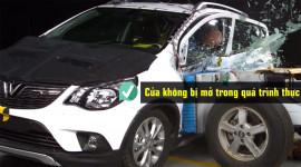 Xem VinFast Fadil vượt qua bài thử nghiệm va chạm ASEAN NCAP