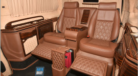 Mercedes-Benz V250 độ nội thất siêu sang giá hơn 3 tỷ tại Hà Nội