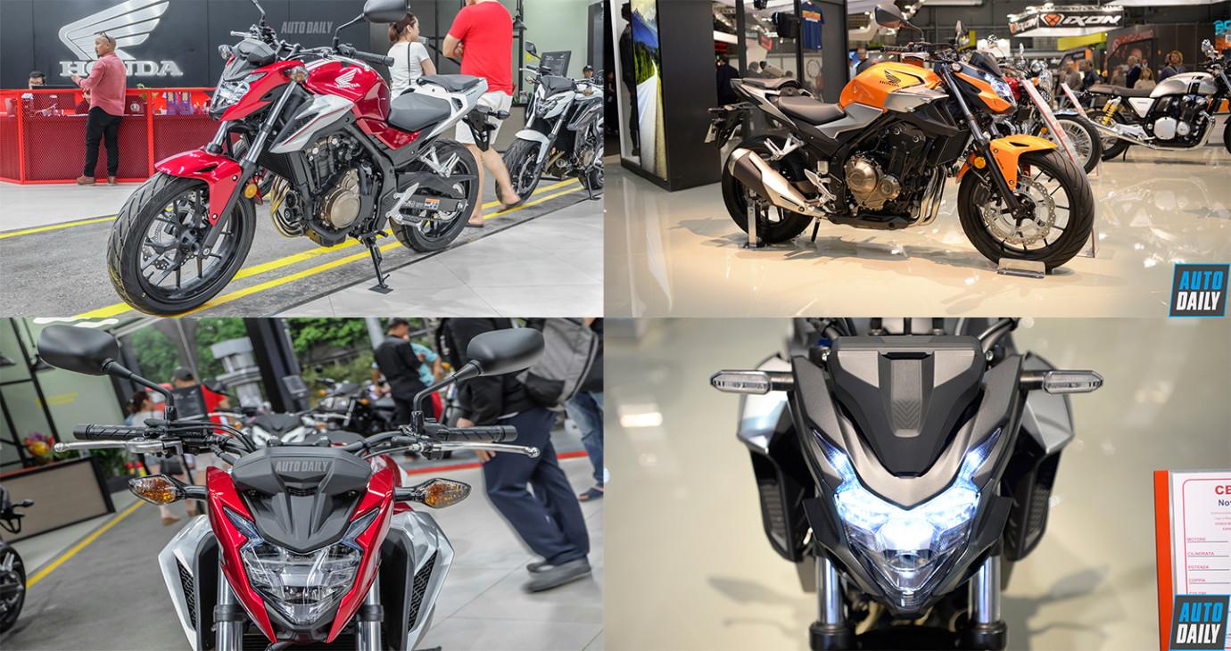 Honda CB500F 2019 thay đổi thế nào so với CB500F 2018?